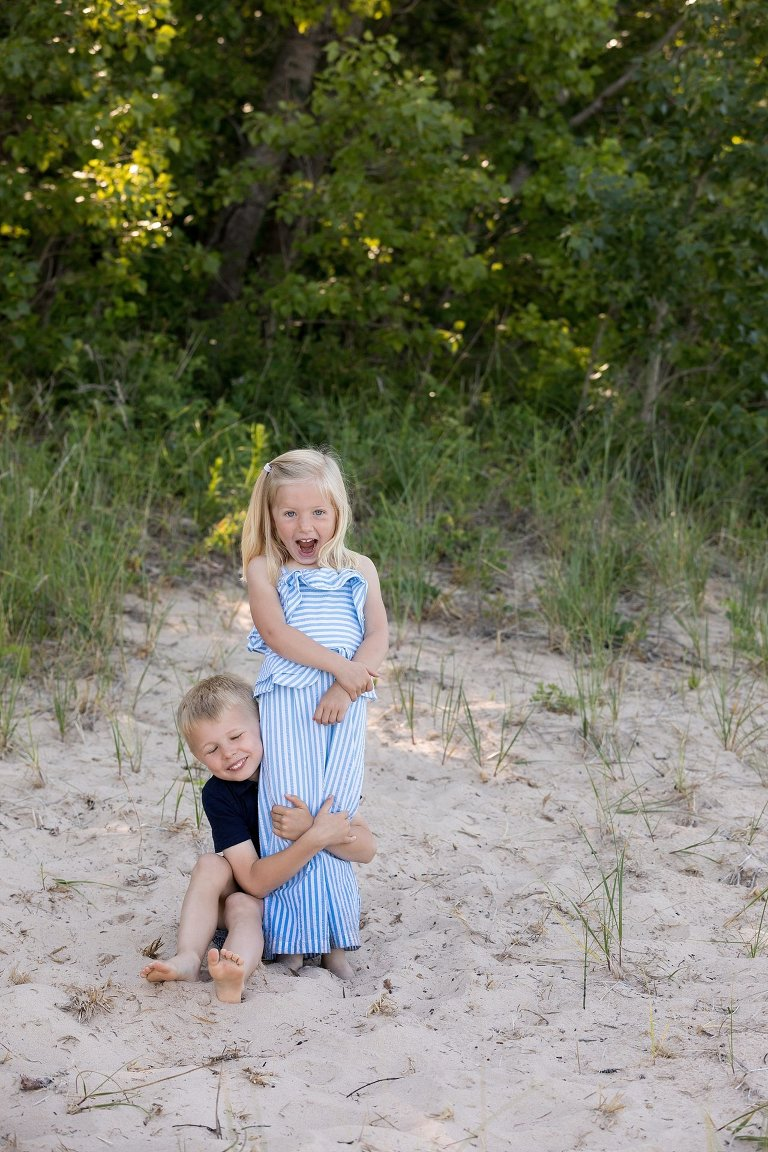 Frankfort Beach Family Photography/Cathy Fitz Photography